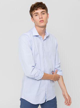 Camisa Mini Print Arrow,Celeste,hi-res