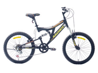 Bicicleta MTB Avalanche Discover Aro 20 Doble Suspensión,Negro,hi-res