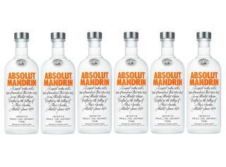 Vodka Absolut Mandrin 40° Caja 6 Unidades 750 cc,,hi-res