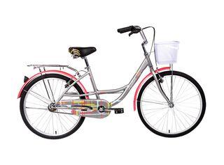 Bicicleta Paseo Oxford Frontier Aro 24,Gris,hi-res