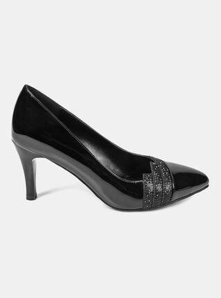 Zapato Eda Manzini Reina Crarol Luz Vestir,Negro,hi-res