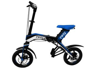 Bicicleta Eléctrica Eway Aro 16 Azul,,hi-res