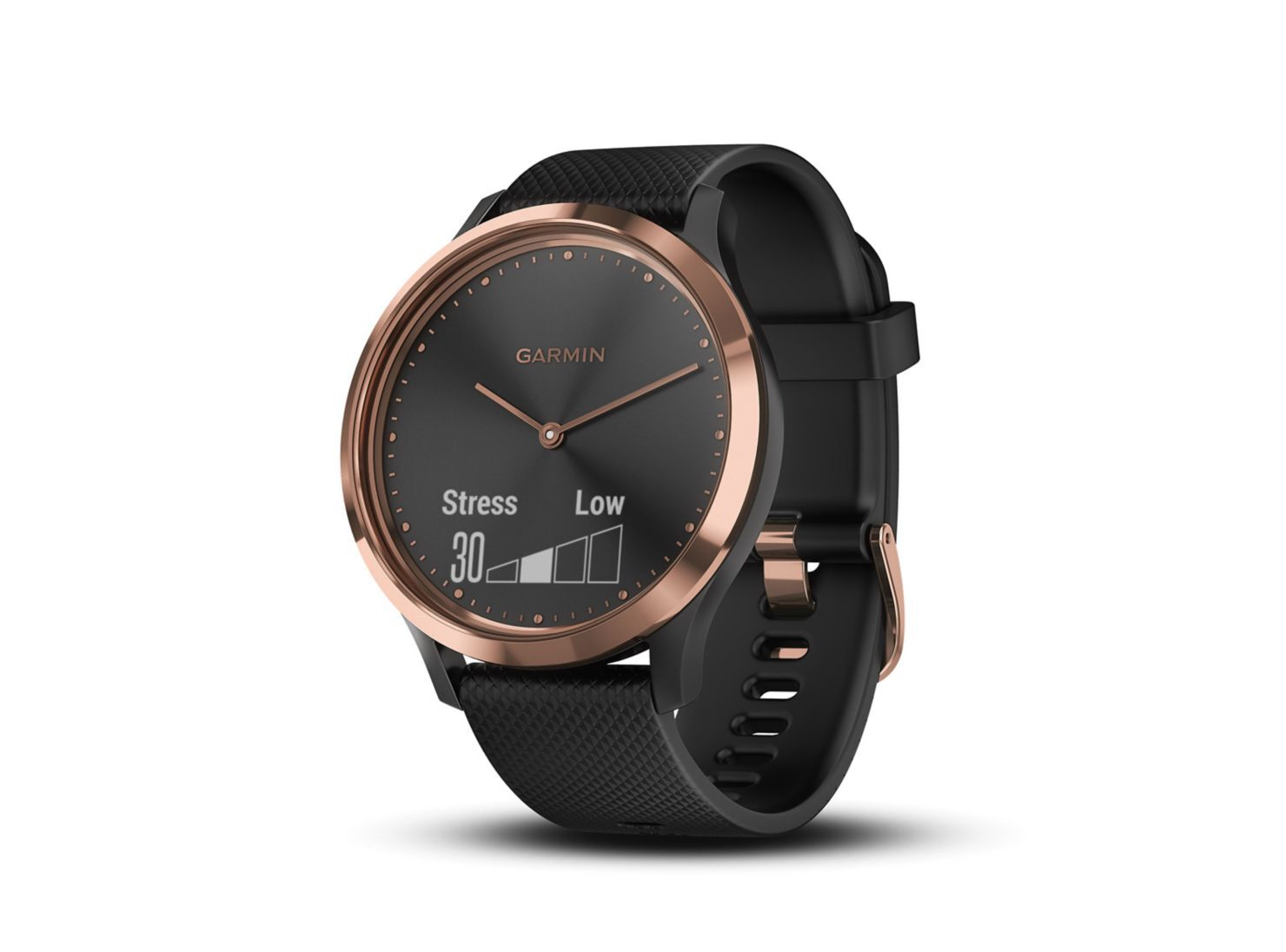 ebaf00f75d8f Smartwatch Garmin Vivomove HR Sport Black Gold en Smartwatch y Wearables