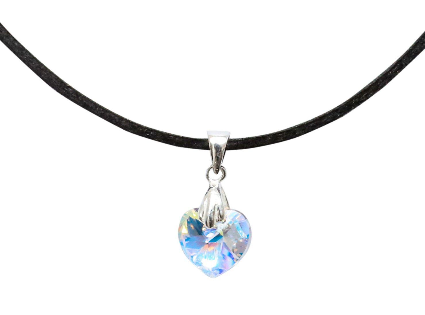 cda2dc79264a Images. Collar Colgante Moskatel Cristal Swarovski Gamuza Aurora Boreal ...