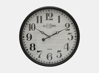 Reloj Negro Alaniz Home 48.5 x 5.5 x 48.5 cm,,hi-res