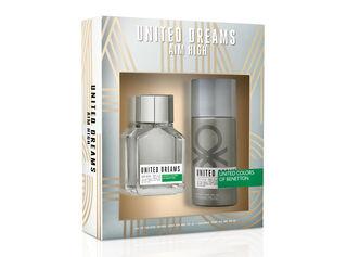 65d6dbc180 Set Perfume Benetton United Dreams Aim High EDT 100 ml + Desodorante 150 ml