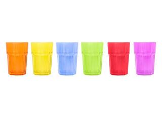 Set 6 Vasos Tableado Color Attimo,,hi-res