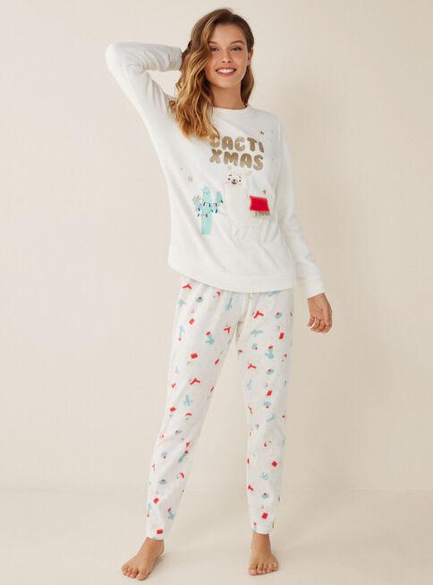 Pijama%20Generic%20Funny%20Women'Secret%2CBlanco%2Chi-res