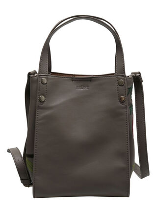 Cartera Tote Bag Prune Abby,Gris Perla,hi-res