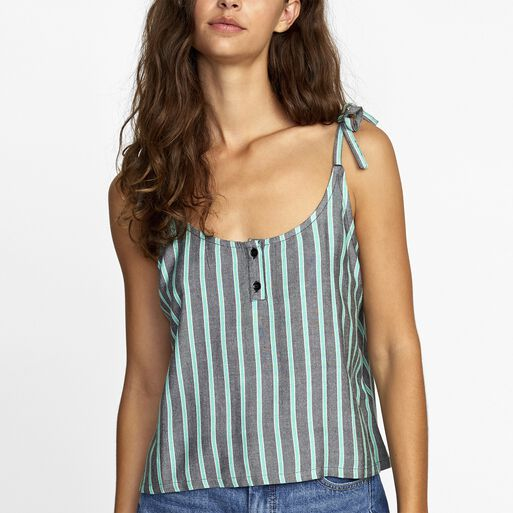 Blusa%20Sin%20Manga%20Mujer%20Melted%20Verde%20Rvca%2Chi-res