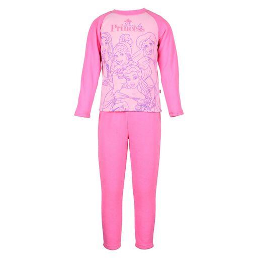Pijama%20Polar%20Estampado%2C%20Fucsia%20Princesas%2Chi-res
