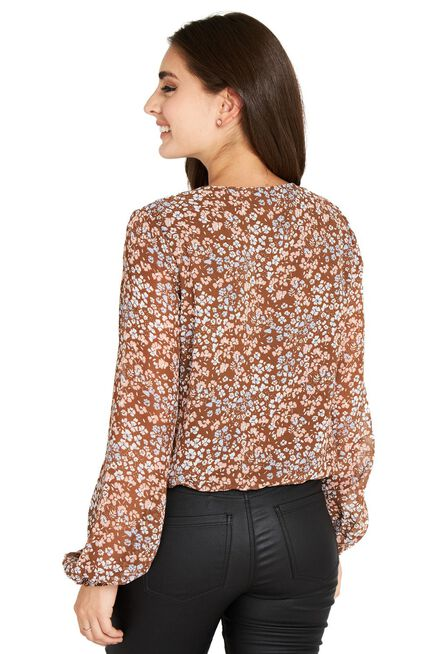 Blusa%20Print%20Floral%20Caf%C3%A9%20Nicopoly%2Chi-res