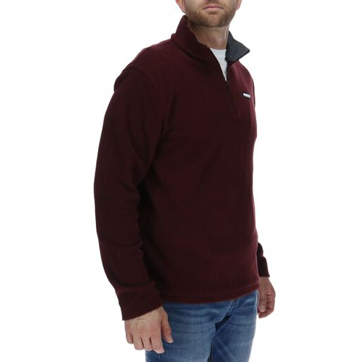 Polar%20Hombre%20Foundation%201%2F4%20Zip%20Microfleece%20Jacket%20Poli%C3%A9ster%20Burdeo%2Chi-res