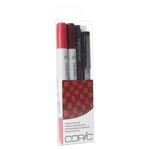 COPIC%20Ciao%20Doodle%20Packs%3A%20Red%20(4%20L%C3%A1pices)%2Chi-res