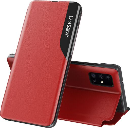 Funda%3A%20iPhone%2012%20-%20Carcasa%20Estuche%20Flip%20%2F%20Rojo%2Chi-res