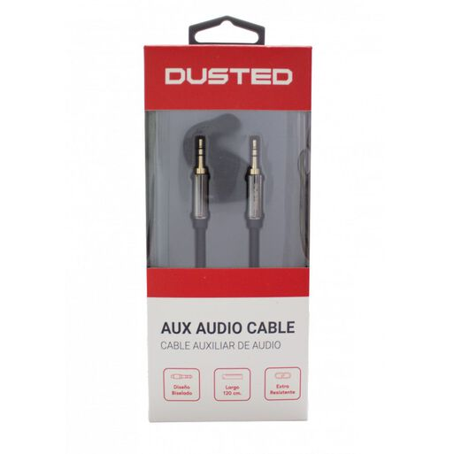 Cable%20AUX%20Stereo%203.5mm%201.2m%20Dusted%20negro%2Chi-res