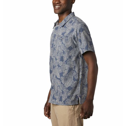 Camisa%20Hombre%20Lakeside%20Trail%20Azul%20Columbia%2Chi-res