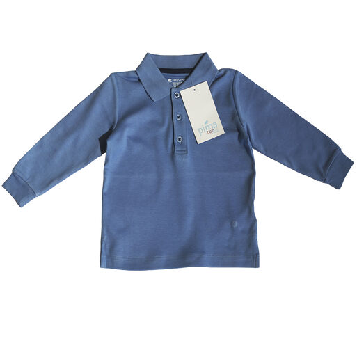 Remera%20Babycottons%20C%2FPolo%20ML%20Pima%20Azul%20Francia%2Chi-res