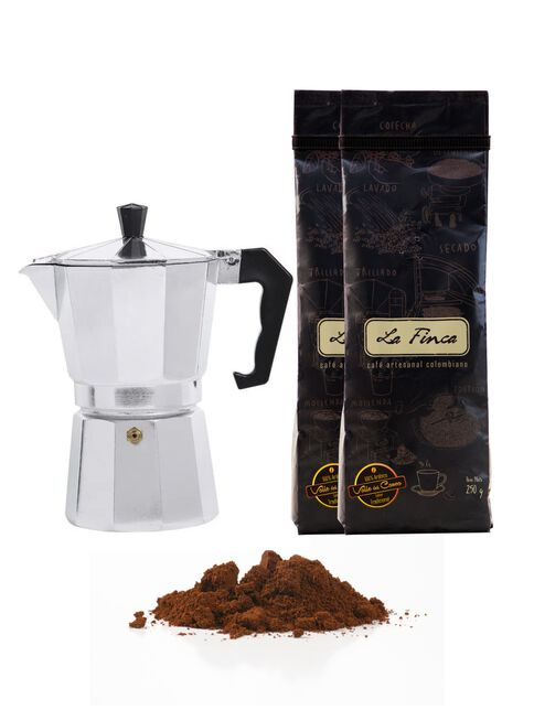 Cafetera%206%20tazas%20%2B%20La%20Finca%20Cauca%20Molido%202x250g%2Chi-res