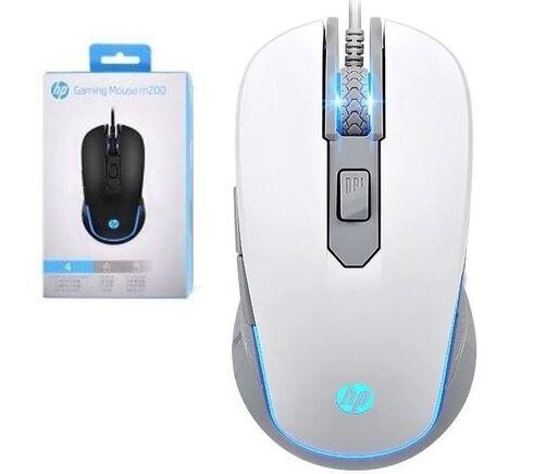 Mouse%20Gamer%20Hp%20M200%20Pro%20Blanco%20Iluminado%202400%20Dpi%2Chi-res