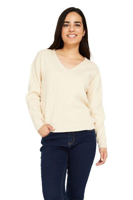Sweater%20Cuello%20V%20Crema%20Nicopoly%2Chi-res