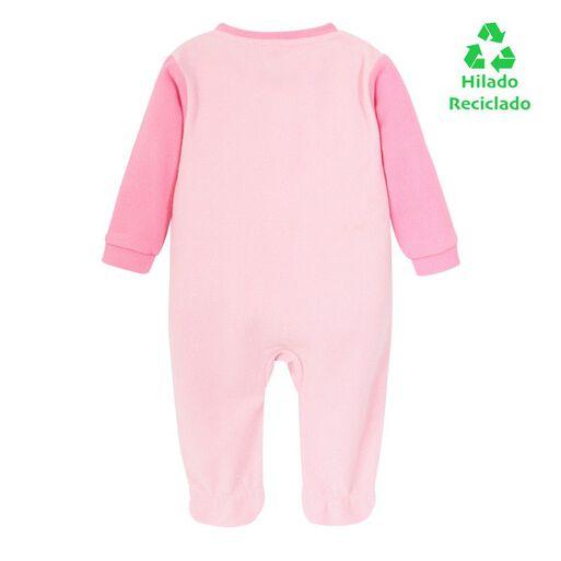 Pijama%20Beb%C3%A9%20Ni%C3%B1a%20Polar%20Reciclado%20Rosa%20H2O%20Wear%2Chi-res
