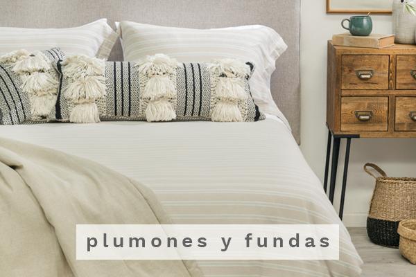 Plumones y fundas Decobook textil