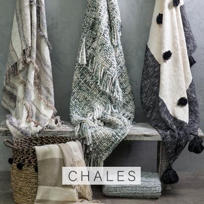 Chales alaniz home Decobook Textil