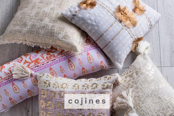 Cojines Decobook textil