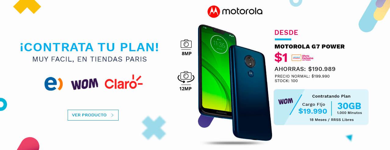 Ahora compra tu celular favorito con plan. Revisa nuestro catálogo de equipos y contrata tu plan directamente en tiendas Paris.
