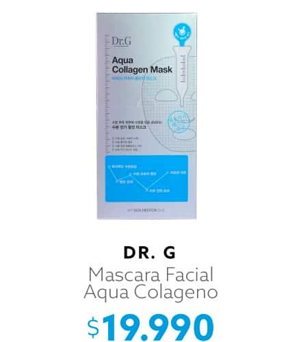 Mascara Facial Aqua Colageno Dr.G