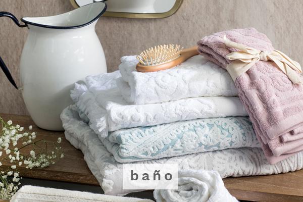 Baño Decobook textil