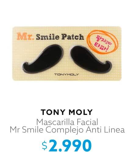 Mascarilla Facial Mr Smile Complejo Anti Linea
