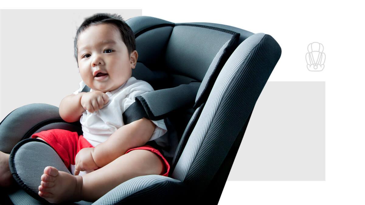 Sillas y butacas de auto para niños hasta 40 kilos