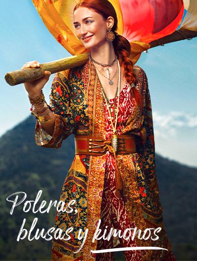 Ver todo Umbrale Carnaval Poleras, Blusas y Kimonos