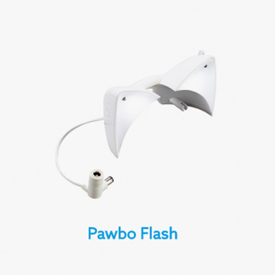 Flash para cámara interactiva de mascotas Pawbo