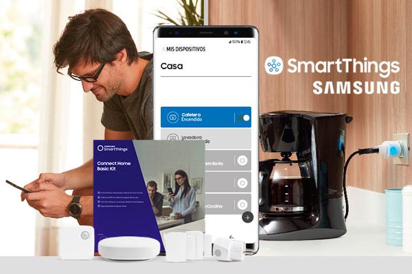 Dispositivos Samsung para conectar tu casa de forma remota