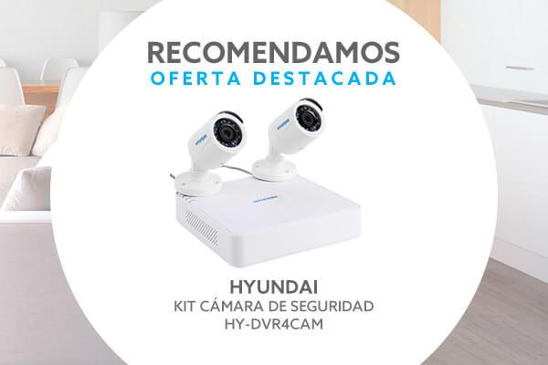 Kit Cámara de Seguridad Hyundai Hy-dvr4cam