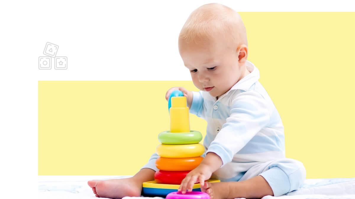 Juguetes armables y didácticos para bebés