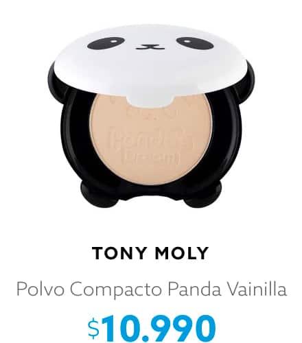 Polvo Compacto Panda Vainilla