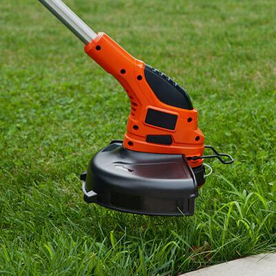 Cortadoras de pasto, orilladoras y otras herramientas de jardín