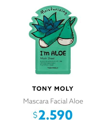 Mascara Facial Aloe