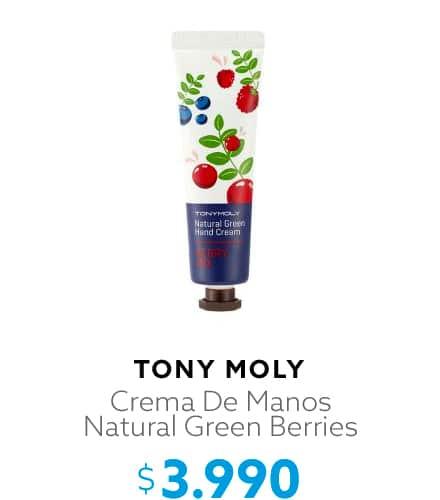 Crema De Manos Natural Green Berries