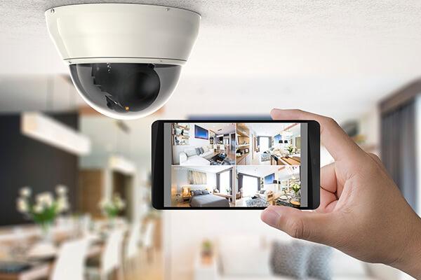 Cámaras, cerraduras, luces LED y otros dispositivos de seguridad
