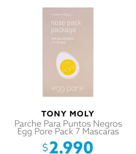 Parche Para Puntos Negros Egg Pore Pack 7 Mascaras