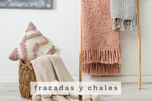 Frazadas y chales Decobook textil