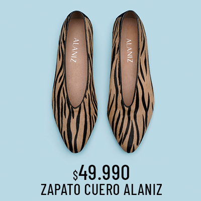 Zapato Cuero Alaniz