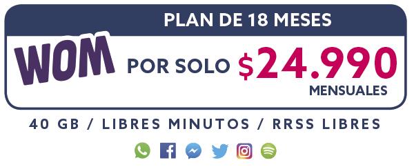 Plan 18 Meses por solo $24.990 mensual