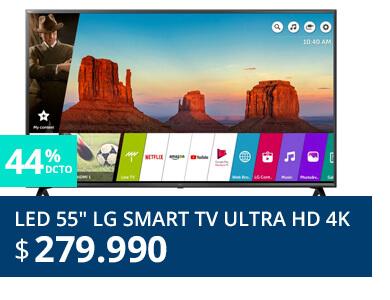 LED 55 LG Smart TV Ultra HD 4K