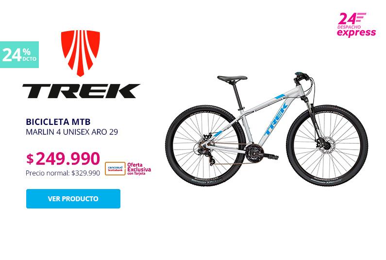 Bicicleta MTB Marlin 4 Unisex Aro 29 249000 pesos